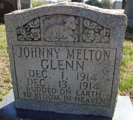 GLENN, JOHNNY MELTON - Faulkner County, Arkansas | JOHNNY MELTON GLENN - Arkansas Gravestone Photos