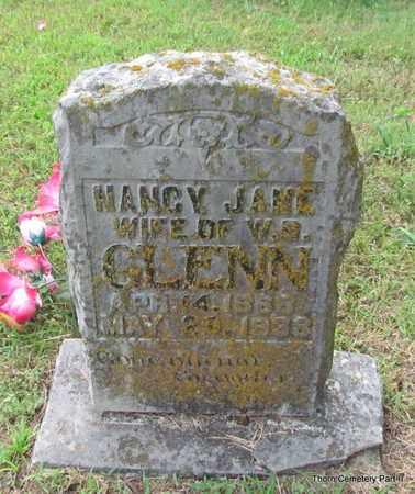 BATTLES GLENN, NANCY JANE - Faulkner County, Arkansas | NANCY JANE BATTLES GLENN - Arkansas Gravestone Photos