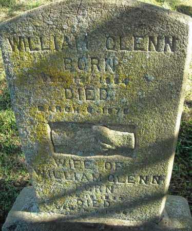 GLENN, WIFE OF - Faulkner County, Arkansas | WIFE OF GLENN - Arkansas Gravestone Photos