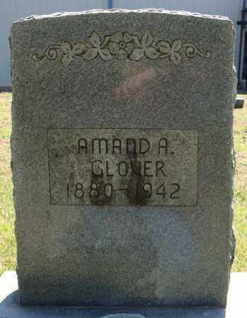 GLOVER, AMANDA - Faulkner County, Arkansas | AMANDA GLOVER - Arkansas Gravestone Photos