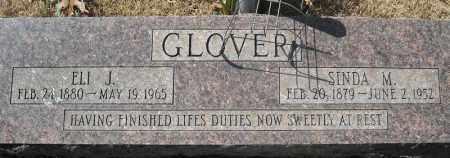 GLOVER, ELI JASPER - Faulkner County, Arkansas | ELI JASPER GLOVER - Arkansas Gravestone Photos