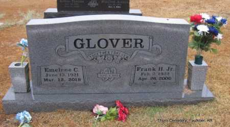 GLOVER, JR., FRANK H. - Faulkner County, Arkansas | FRANK H. GLOVER, JR. - Arkansas Gravestone Photos