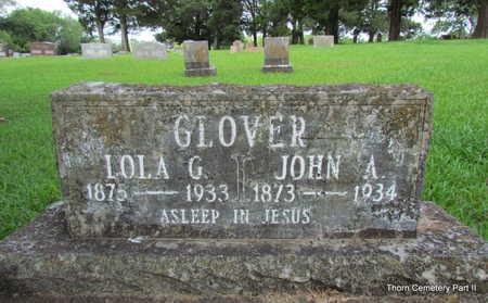 GLOVER, LOLA G. - Faulkner County, Arkansas | LOLA G. GLOVER - Arkansas Gravestone Photos