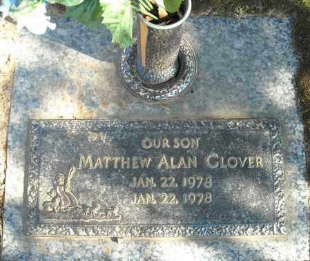 GLOVER, MATTHEW ALAN - Faulkner County, Arkansas   MATTHEW ALAN GLOVER - Arkansas Gravestone Photos