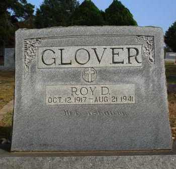 GLOVER, ROY D. - Faulkner County, Arkansas | ROY D. GLOVER - Arkansas Gravestone Photos