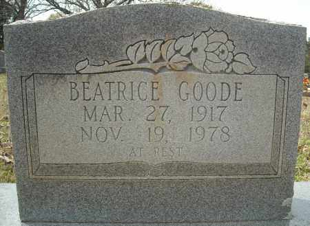 GOODE, BEATRICE (TWIN) - Faulkner County, Arkansas | BEATRICE (TWIN) GOODE - Arkansas Gravestone Photos