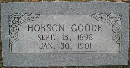 GOODE, HOBSON CHESTER - Faulkner County, Arkansas | HOBSON CHESTER GOODE - Arkansas Gravestone Photos