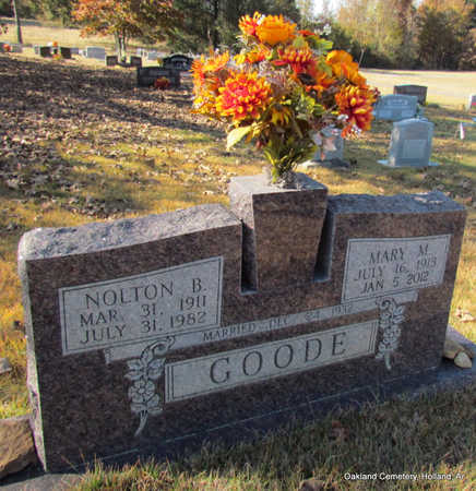 GOODE, NOLTON BURSE - Faulkner County, Arkansas | NOLTON BURSE GOODE - Arkansas Gravestone Photos