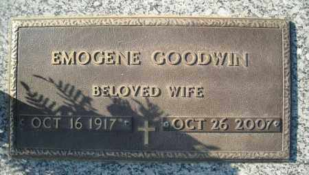 GOODWIN, EMOGENE - Faulkner County, Arkansas | EMOGENE GOODWIN - Arkansas Gravestone Photos