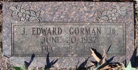 GORMAN, JR., J. EDWARD - Faulkner County, Arkansas | J. EDWARD GORMAN, JR. - Arkansas Gravestone Photos