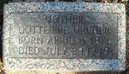 DREHER, GOTTLIEBE - Faulkner County, Arkansas   GOTTLIEBE DREHER - Arkansas Gravestone Photos