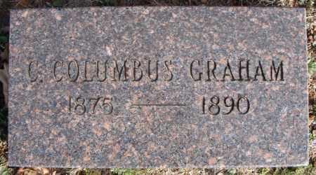 GRAHAM, C. COLUMBUS - Faulkner County, Arkansas | C. COLUMBUS GRAHAM - Arkansas Gravestone Photos