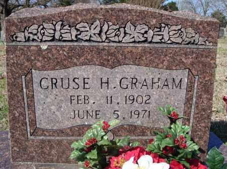 GRAHAM, CRUSE H. - Faulkner County, Arkansas | CRUSE H. GRAHAM - Arkansas Gravestone Photos