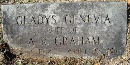 GRAHAM, GLADYS GENEVIA - Faulkner County, Arkansas | GLADYS GENEVIA GRAHAM - Arkansas Gravestone Photos