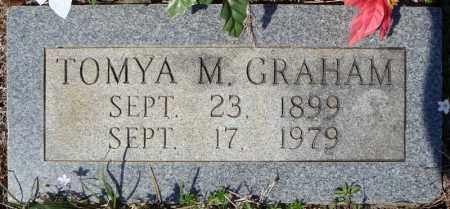 GRAHAM, TOMYA M. - Faulkner County, Arkansas   TOMYA M. GRAHAM - Arkansas Gravestone Photos