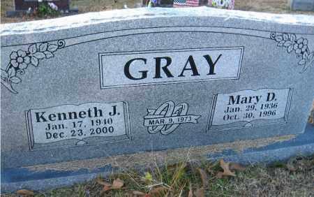GRAY, MARY D. - Faulkner County, Arkansas | MARY D. GRAY - Arkansas Gravestone Photos