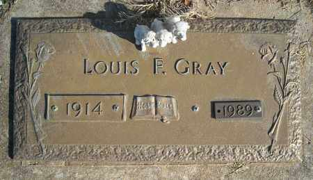 GRAY, LOUIS F. - Faulkner County, Arkansas | LOUIS F. GRAY - Arkansas Gravestone Photos