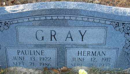 GRAY, PAULINE - Faulkner County, Arkansas | PAULINE GRAY - Arkansas Gravestone Photos