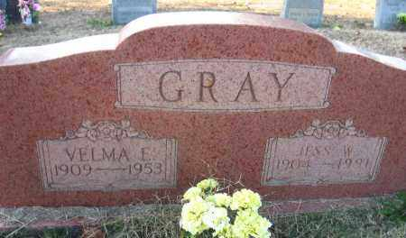 GRAY, JESS W. - Faulkner County, Arkansas | JESS W. GRAY - Arkansas Gravestone Photos