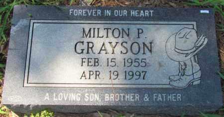 GRAYSON, MILTON P - Faulkner County, Arkansas | MILTON P GRAYSON - Arkansas Gravestone Photos