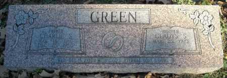 GREEN, CHARLIE S. - Faulkner County, Arkansas | CHARLIE S. GREEN - Arkansas Gravestone Photos