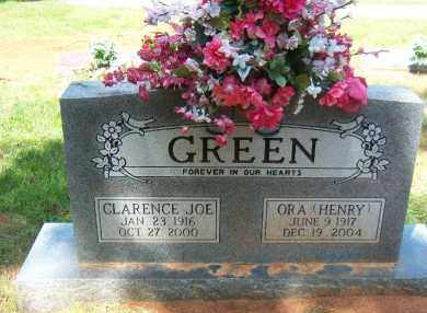 GREEN, ORA - Faulkner County, Arkansas | ORA GREEN - Arkansas Gravestone Photos