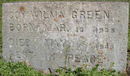 GREEN, COY WILMA - Faulkner County, Arkansas | COY WILMA GREEN - Arkansas Gravestone Photos