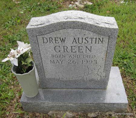 GREEN, DREW AUSTIN - Faulkner County, Arkansas | DREW AUSTIN GREEN - Arkansas Gravestone Photos