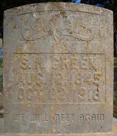 GREEN, S.H. - Faulkner County, Arkansas | S.H. GREEN - Arkansas Gravestone Photos