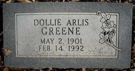 GREENE, DOLLIE ARLIS - Faulkner County, Arkansas | DOLLIE ARLIS GREENE - Arkansas Gravestone Photos