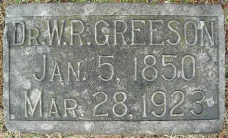 GREESON, DR., W.R. - Faulkner County, Arkansas | W.R. GREESON, DR. - Arkansas Gravestone Photos