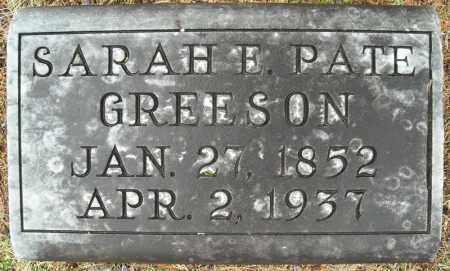 GREESON, SARAH E. - Faulkner County, Arkansas | SARAH E. GREESON - Arkansas Gravestone Photos