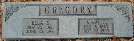 GREGORY, ELLA S. - Faulkner County, Arkansas | ELLA S. GREGORY - Arkansas Gravestone Photos