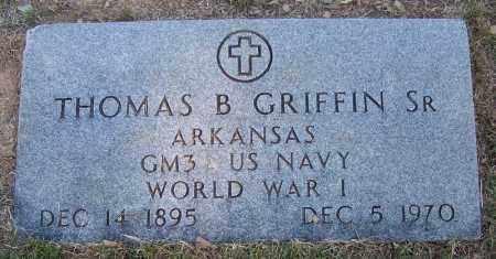 GRIFFIN (VETERAN WWI), THOMAS B - Faulkner County, Arkansas | THOMAS B GRIFFIN (VETERAN WWI) - Arkansas Gravestone Photos
