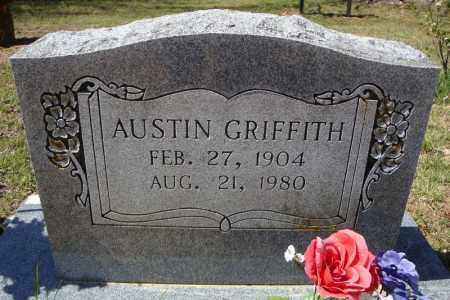 GRIFFITH, AUSTIN - Faulkner County, Arkansas   AUSTIN GRIFFITH - Arkansas Gravestone Photos