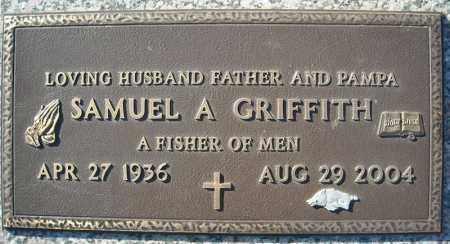 GRIFFITH, SAMUEL A. - Faulkner County, Arkansas | SAMUEL A. GRIFFITH - Arkansas Gravestone Photos