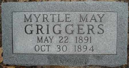 GRIGGERS, MYRTLE MAY - Faulkner County, Arkansas   MYRTLE MAY GRIGGERS - Arkansas Gravestone Photos