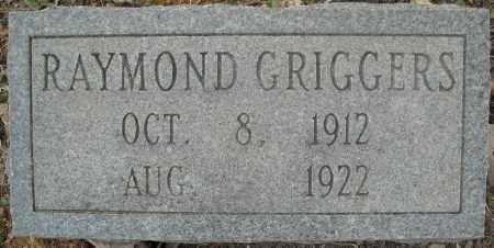 GRIGGERS, RAYMOND - Faulkner County, Arkansas   RAYMOND GRIGGERS - Arkansas Gravestone Photos