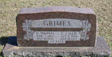 GRIMES, H. THOMAS - Faulkner County, Arkansas | H. THOMAS GRIMES - Arkansas Gravestone Photos