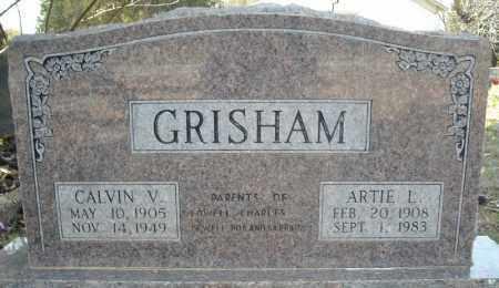"GRISHAM, CALVIN VESTA ""DUTCH"" - Faulkner County, Arkansas | CALVIN VESTA ""DUTCH"" GRISHAM - Arkansas Gravestone Photos"