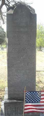 GRISHAM, JESSE M. - Faulkner County, Arkansas | JESSE M. GRISHAM - Arkansas Gravestone Photos