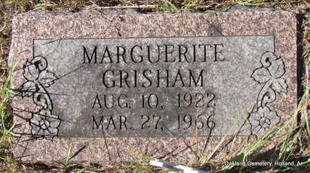 GRISHAM, MARGUERITE - Faulkner County, Arkansas   MARGUERITE GRISHAM - Arkansas Gravestone Photos