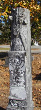 GRISHAM, WILLIAM CULLEN - Faulkner County, Arkansas | WILLIAM CULLEN GRISHAM - Arkansas Gravestone Photos