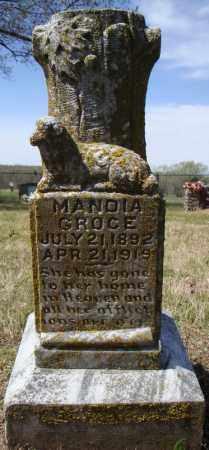 GROCE, MANDIA - Faulkner County, Arkansas | MANDIA GROCE - Arkansas Gravestone Photos