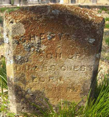 GUESS, CHESTER - Faulkner County, Arkansas   CHESTER GUESS - Arkansas Gravestone Photos