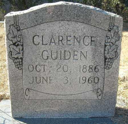 GUIDEN, CLARENCE - Faulkner County, Arkansas | CLARENCE GUIDEN - Arkansas Gravestone Photos