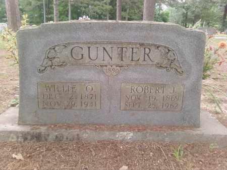 GUNTER, ROBERT J. - Faulkner County, Arkansas   ROBERT J. GUNTER - Arkansas Gravestone Photos