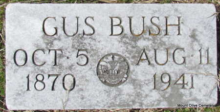 BUSH, GUS - Faulkner County, Arkansas   GUS BUSH - Arkansas Gravestone Photos