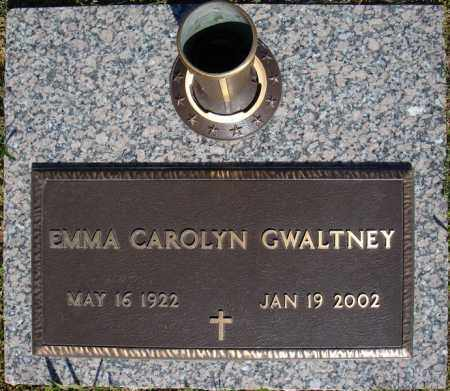 GWALTNEY, EMMA CAROLYN - Faulkner County, Arkansas | EMMA CAROLYN GWALTNEY - Arkansas Gravestone Photos