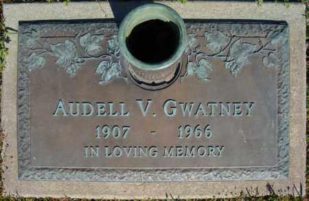 GWATNEY, AUDELL V. - Faulkner County, Arkansas | AUDELL V. GWATNEY - Arkansas Gravestone Photos